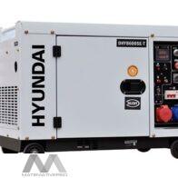 Gerador Diesel Silencioso 7,5 kVA Hyundai DHY8600SE-T